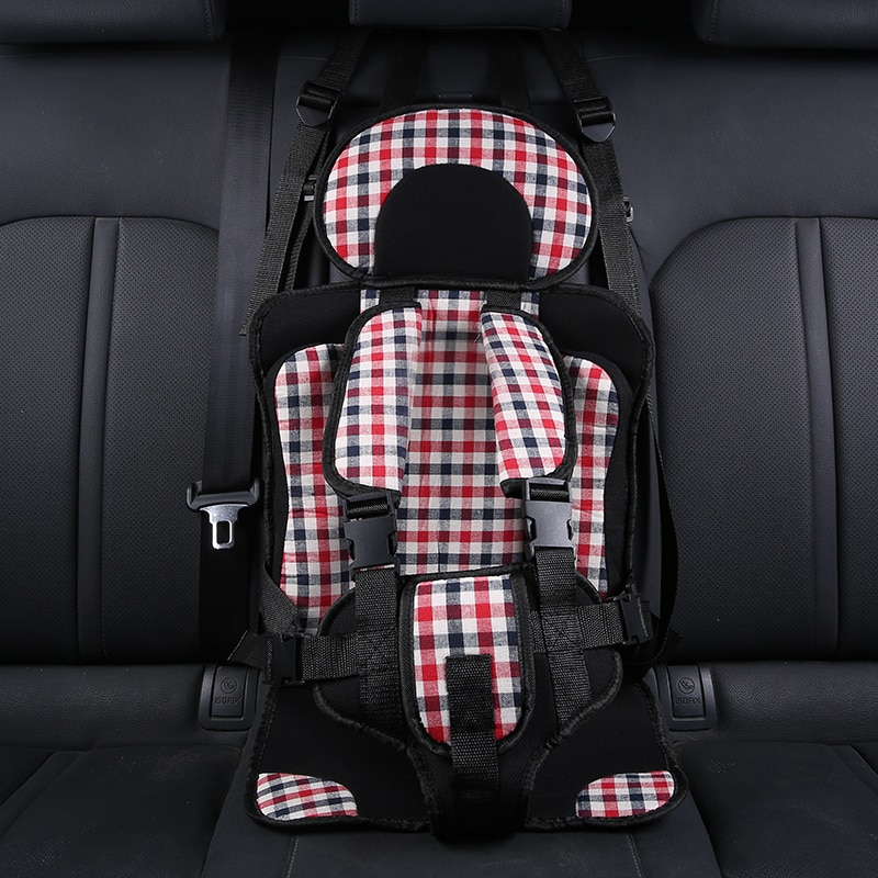Портативное детское кресло простые детские подушки бустер в машину уплотненная