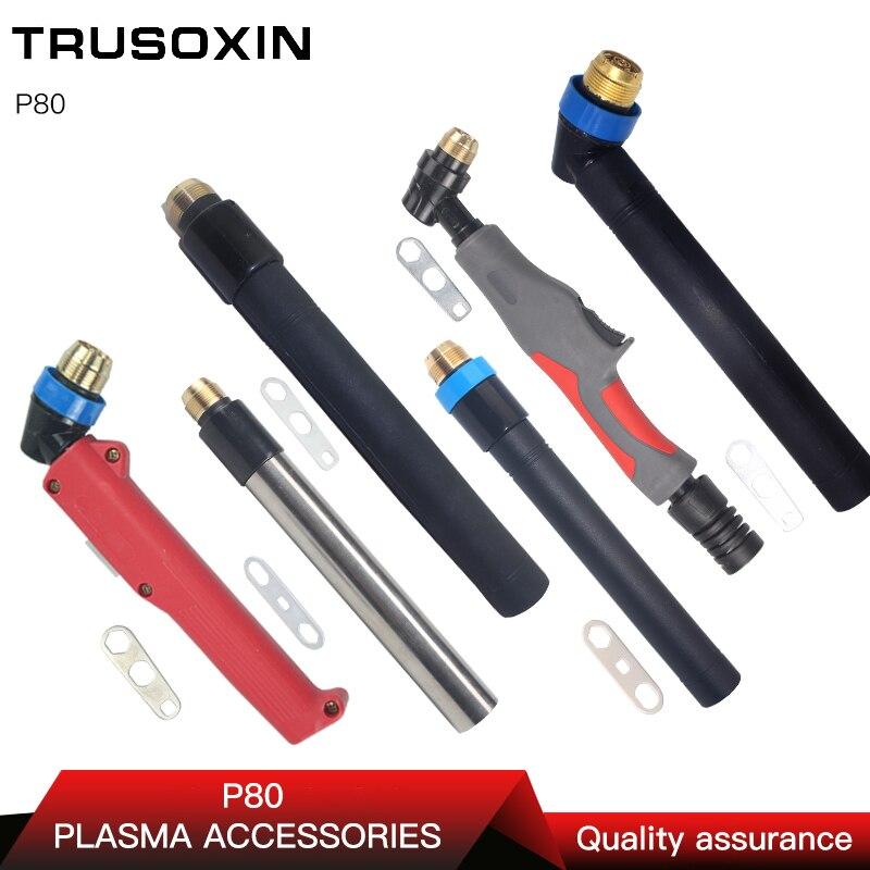 NEW P80 Plasma gun plasma cutter/cutting machine accessories Torch Head/Air Cooled Cutting100A 120A Torch/cutting
