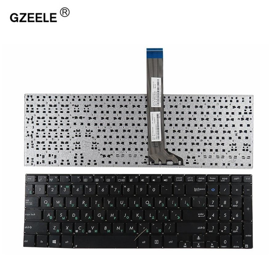 Русская клавиатура GZEELE для ноутбука ASUS VivoBook S551 S551LA S551LB V551 V551LN S551L S551LN K551 K551L RU, Лидер продаж, оптовая продажа