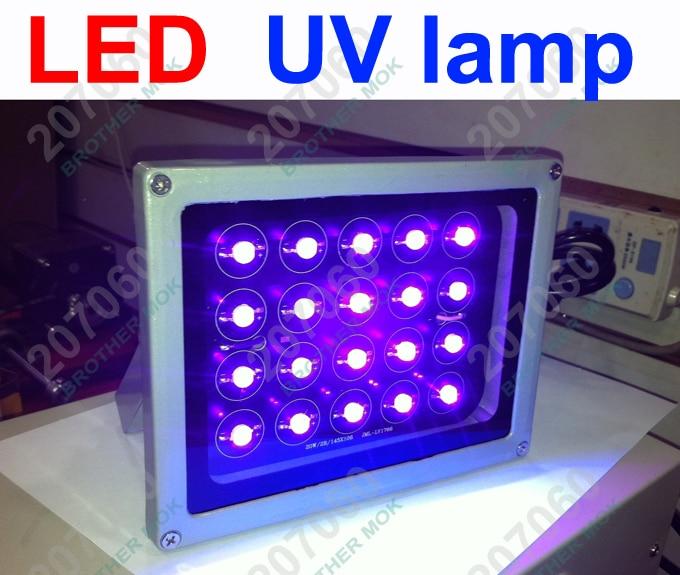 Profissional led uv lâmpada loca cola uv gel cura luz ultra-violeta (ultravioleta) lâmpada para tela digitador reparo lcd 6 pçs/lote