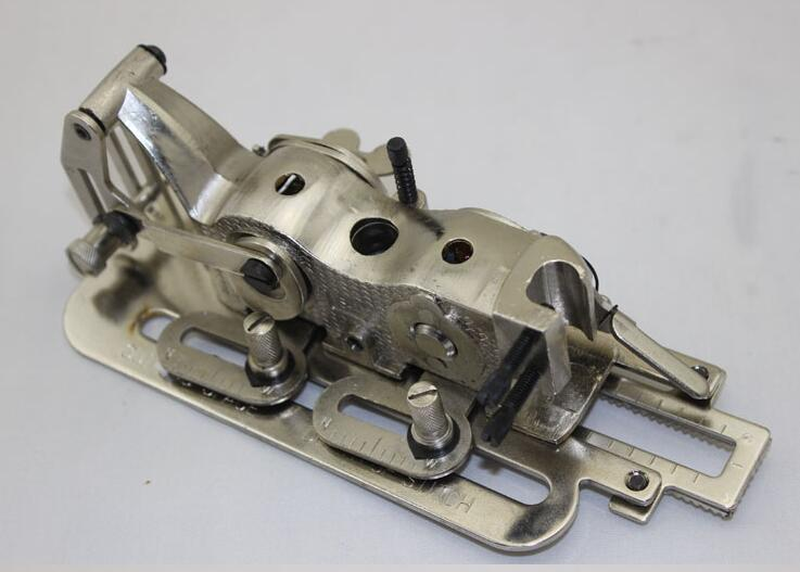 Dispositivo de orificio para cerradura de máquina de coser automática para prensatelas para máquina computarizada