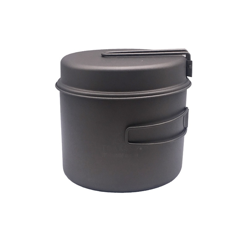 TOAKS 1600 ml batterie de cuisine ensemble ultra-léger titane Pot poêle Camping en plein air titane bol titane tasse pique-nique