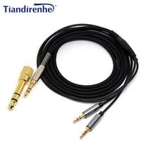 Câble de remplacement pour sol republique Master pistes HD V8 V10 V12 X3 ecouteur 6.35mm/3.5mm à 2.5mm fil Audio pour iPhone xiaomi