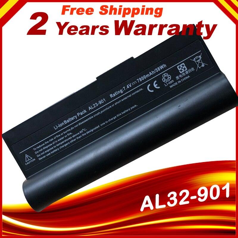HSW especial celdas de batería del ordenador portátil AL23-901 AP23-901 AP22-1000 para Asus Eee PC 1000H 1000 1000HA 1000HD 1000HE 1000HG envío rápido