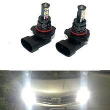 2x Auto LED 9005 Nebel Glühbirne Tagfahrlicht Für Renault Trafic Safrane megane duster logan laguna Koleos Scala stepway