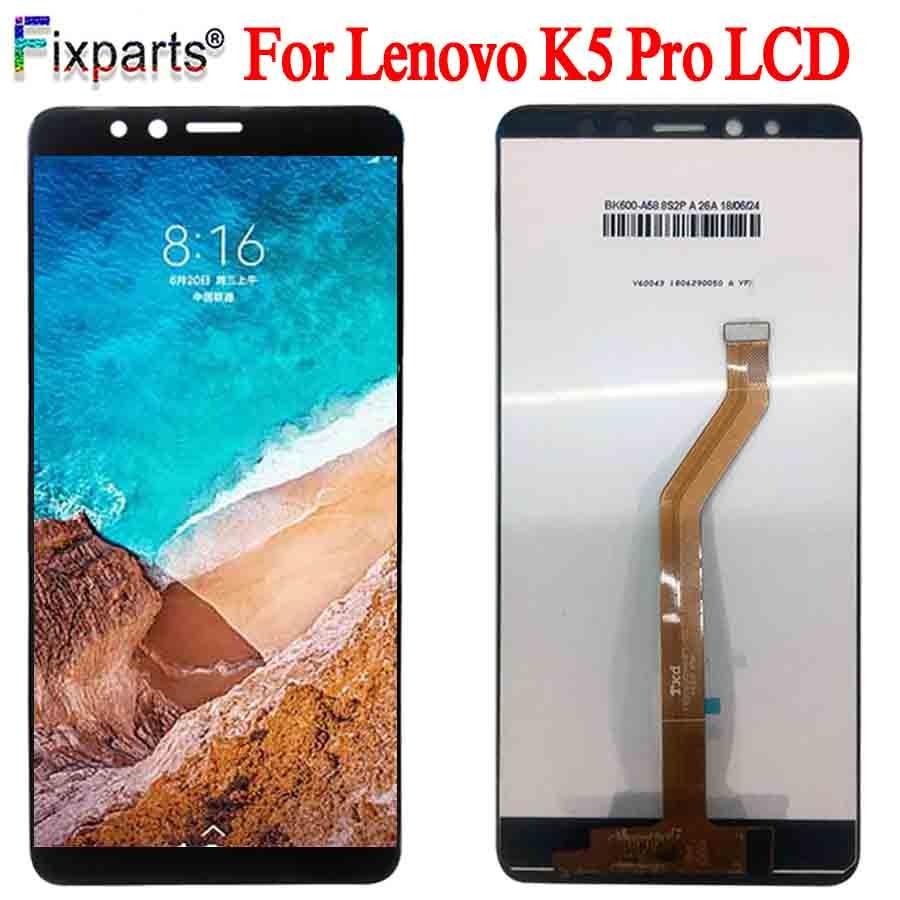 "Pantalla táctil LCD de 5,99 ""para Lenovo K5 Pro piezas de repuesto digitalizador Asamblea para Lenovo K5 Pro L38041"