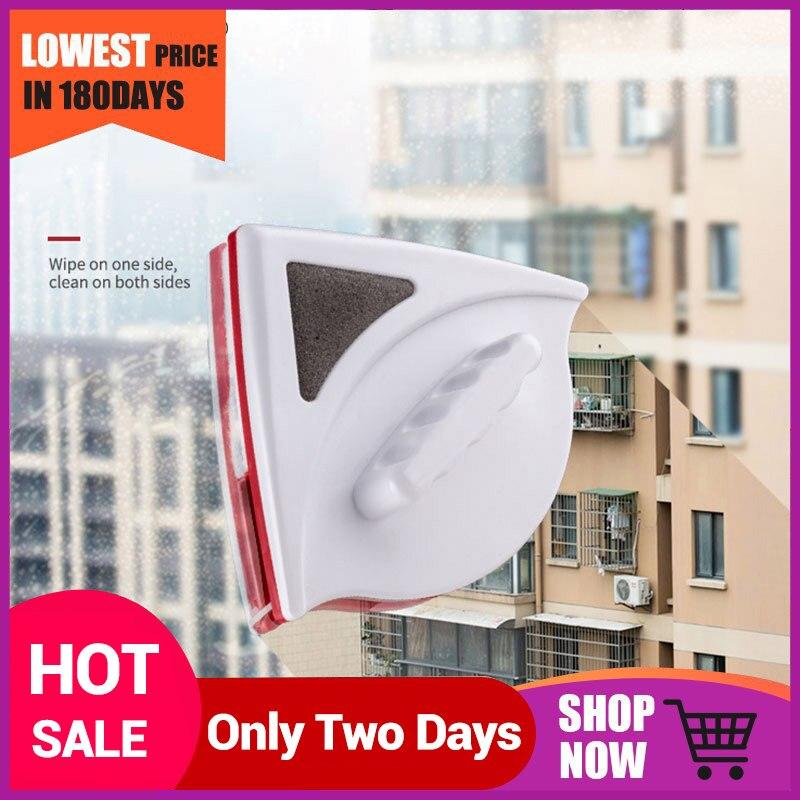 Limpiador de ventanas de doble cara de 3-40mm, cepillo magnético para lavar ventanas, limpiador de vidrio, herramienta de limpieza de superficies de vidrio