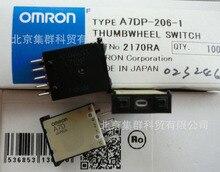 A7DP-206-1 التبديل الإبهام bcd 0.1a 30 فولت