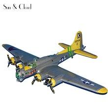 1:33 bricolage 3D Boeing B-17G volant forteresse avion avion papier modèle assembler main travail Puzzle jeu bricolage enfants jouet