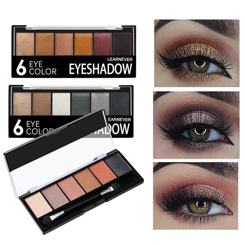 Brilho sombra maquiagem palete fosco sombra de olho paleta shimmer e brilho diamante sombra em pó pigmento