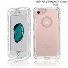 Frente & traseira 360 capa protetora clara para o iphone 5 5S se 6s 6 7 8 plus x xr xs max cristal tpu capa escudo saco do telefone móvel