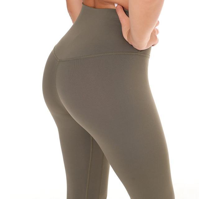 NWT المرأة ضيق الرياضة كابري مثير اليوغا البطن التحكم Legggings 4 طريقة تمتد النسيج غير انظر من خلال الجودة شحن مجاني