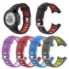 Спортивные Смарт наручные часы мягкий силиконовый браслет Смарт часы ремешок Замена для Suunto QUEST M1 M2 M4 M5 Smartwatch ремень