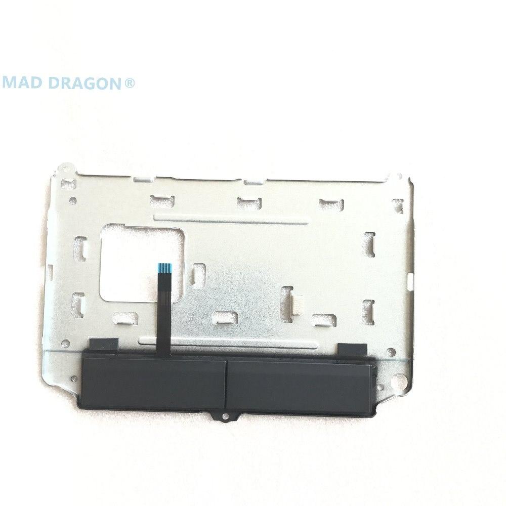 Nuevas piezas de ordenador portátil orig para DELL ALIENWARE 15 R3 17 R4 touchpad caddy soporte y botón 04GG2D 4GG2D