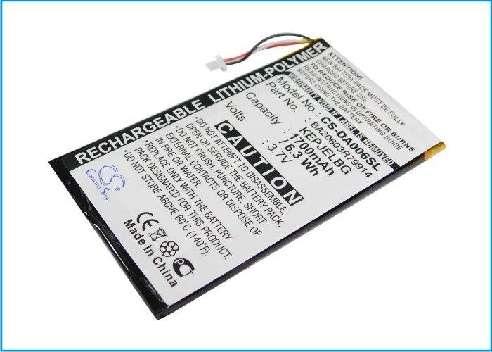 Cameron Sino actualización para Creative BA20603R79914,DVP-HD0003 MP3, MP4, batería PMP