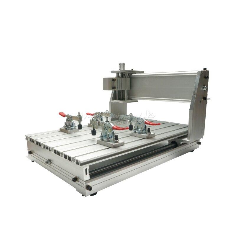 Pieza de la máquina fresadora CNC 3040, marco de aleación de aluminio, tornillo de bola
