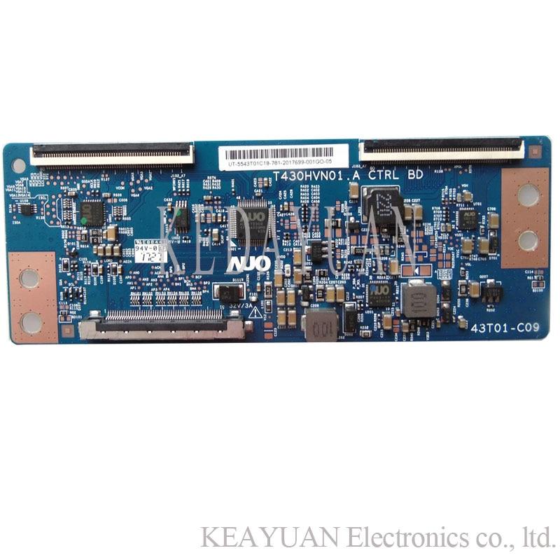 Envío Gratis original 100% trabajo de prueba para hisense LED43N2600 placa lógica T430HVN01. A CTRL BD 43T01-C09