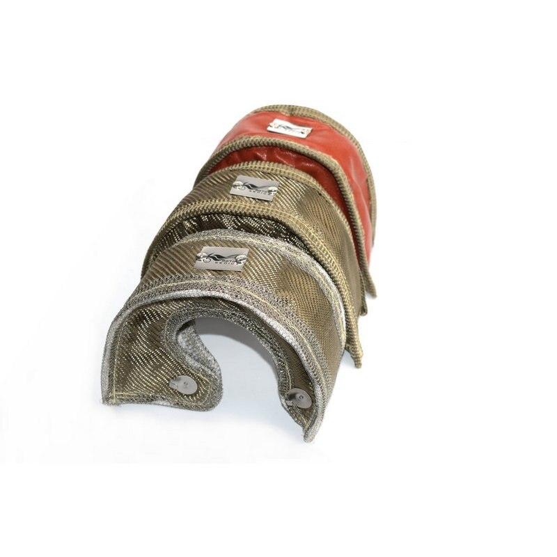 T3 TURBO COPERTA di CALORE GARRETT TURBO COPERTA CON ACCIAIO INOSSIDABILE DELLA MAGLIA Per T2 T25 T28 GT30, t35 Turbocompressore