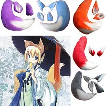 Takerlama Anime Gewürz und Wolf Holo Fuchs Kamisama Kiss Kamisama Hajimemashita Plüsch Ohren Cosplay Prop