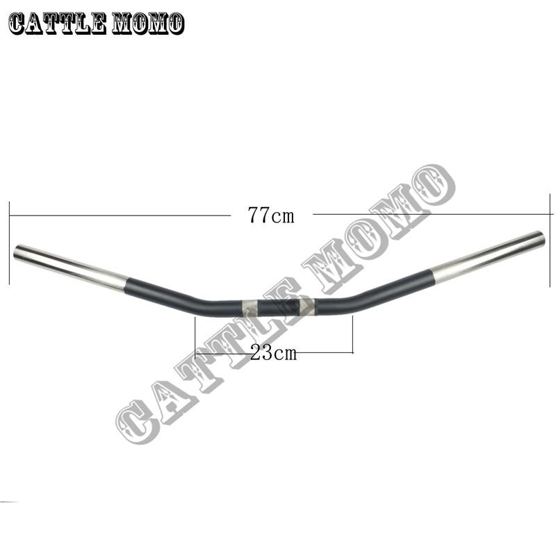Руль для мотоцикла 25 мм для XL883 1200 X48 Dyna Road King Night Rod специальный ручной стержень из алюминиевого сплава