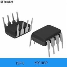 1 sztuk/partia X9C103P X9C103 DIP-8
