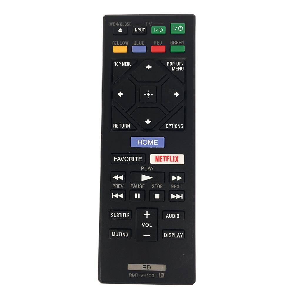 RMT-VB100U de Control remoto Original usado para SONY Blu-Ray reproductor de DVD...
