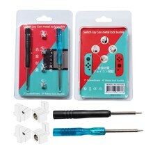 Original Repair Parts Alloy Buckle Lock for Nintendo Switch NS NX Joy-Con controller Game Accessories