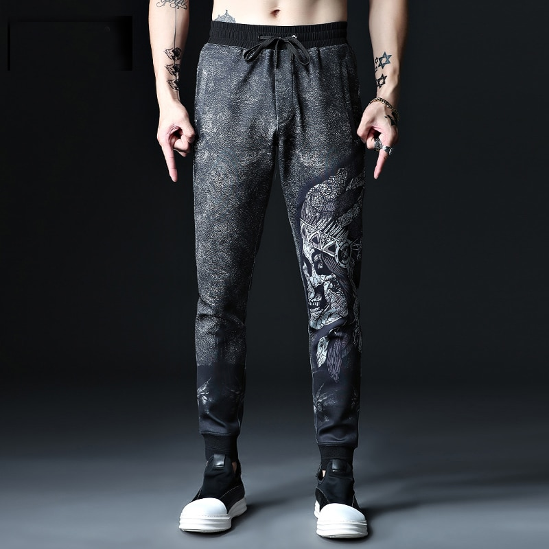 Pantalones de chándal de talla grande 2xl-7xl 8XL 52 54 para hombre, pantalones de chándal informales de algodón de hip hop para hombre, pantalones muy elástico largo, pantalones de talla grande