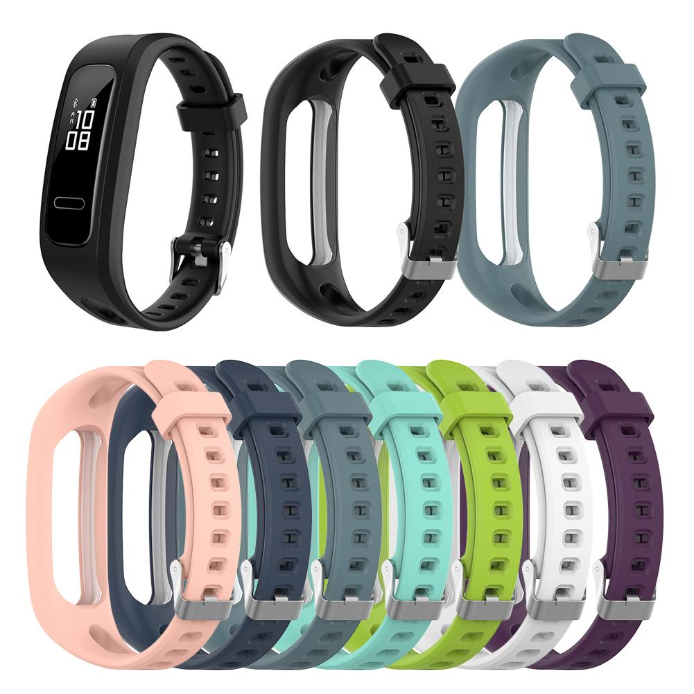 Новое поступление сменный силиконовый ремешок для часов Huawei Band 3e Huawei Honor Band 4 версия для бега Смарт-часы браслет