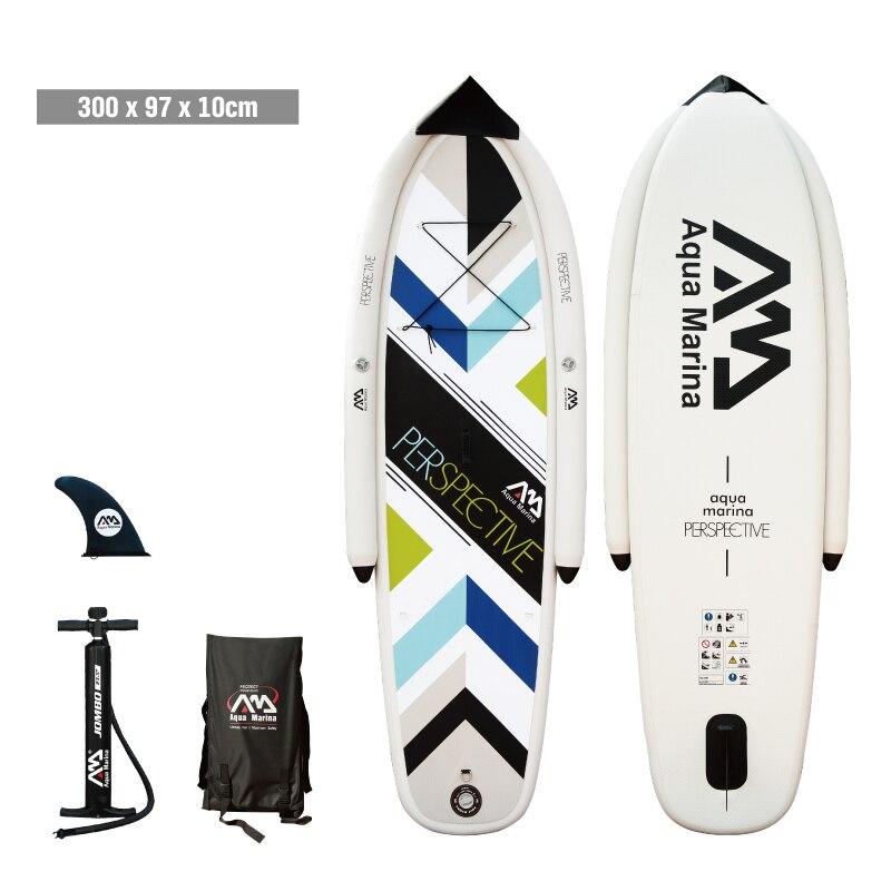 "Aqua marina 3 m/99 ""Tabla de paleta inflable iSUP para principiantes y niños perspectiva"