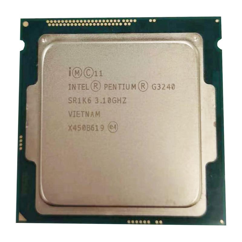 Procesador Intel Pentium G3240 3,1g LGA1150 22 nanómetros LGA1150 3M Cache Dual-Core CPU procesador TPD 53W, tiene un g3220 en venta