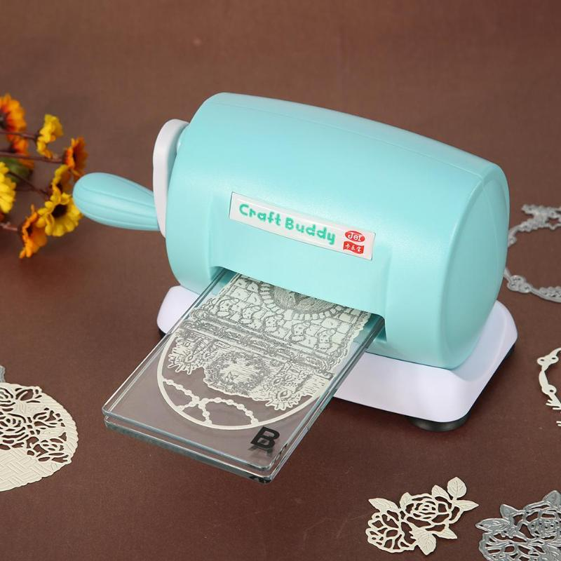 Practical DIY Die-Cut Machine 2020 Handmade Gift Paper Cutting Embossing Machine Home Scrapbooking Cutter Piece Manual Card Tool