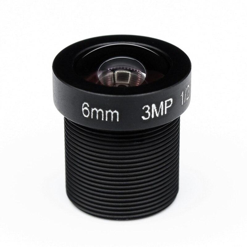 "1/2 5 ""HD 3MP 6mm Iris fijo M12 * 0,5 Cámara MTV ir junta de lente para cámara de CCTV para cámara IP de seguridad"