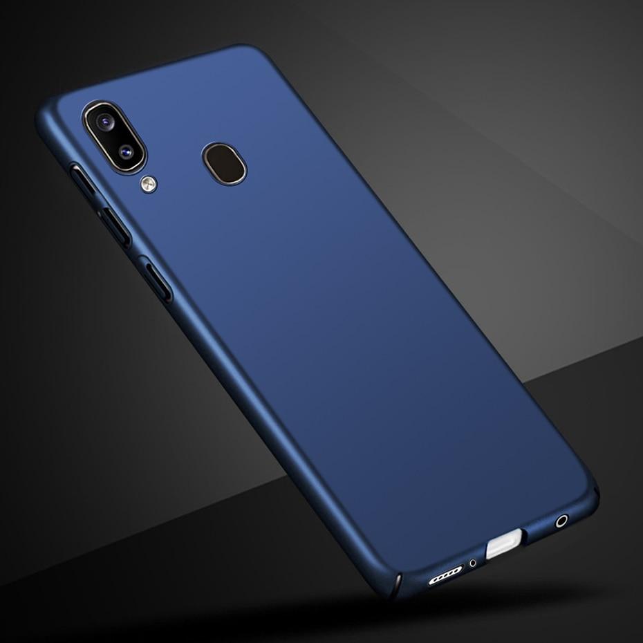Funda de teléfono para Samsung Galaxy a20, funda de lujo con parachoques para Samsung A20 A 20 2019 A205F, Fundas parachoques a20, funda trasera