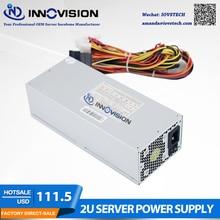 High efficiency Max output 600W industrial Power Supply P/S  HK600 for 2U/3U Case 2U server psu