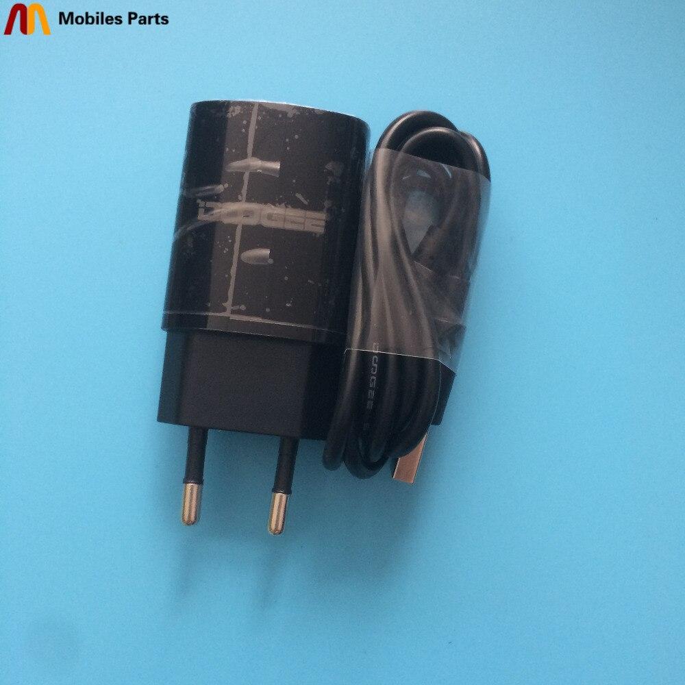 Новое дорожное зарядное устройство + USB кабель USB линия Для Doogee Y6 фортепиано черный 4 + 64G 5,5 дюйма MT6750 1280x720 Бесплатная доставка
