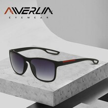 AIVERLIA Brand Designer Sunglasses Women Vintage Square Frame Sun Glasses Men Gradient Shades UV400