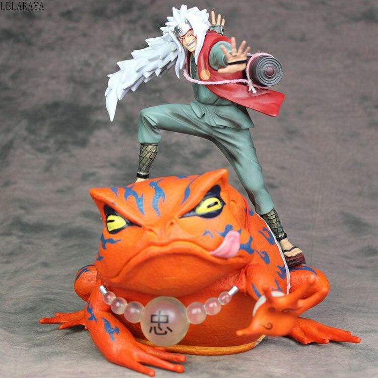 Anime nuevo de 13-23CM, Naruto Gama-Bunta, Rana Jiraiya, Uchiha Itachi GK, estatua Ver. Modelo de figura de acción de PVC a escala 1/7, juguetes Brinquedos