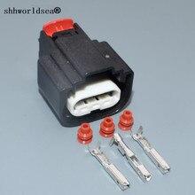 Shhworldsea connecteur de bobine dallumage   Jeu 1/2/5/30/100 0.6mm 3pin, connecteur de bobine dallumage étanche 34250-3065