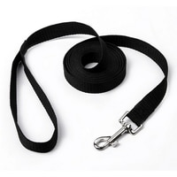 Classic Pet Lead Leash For Dogs Cats Red Black Blue Nylon Walk Dog Leash Selectable Size Outdoor Security Training Dog Harness