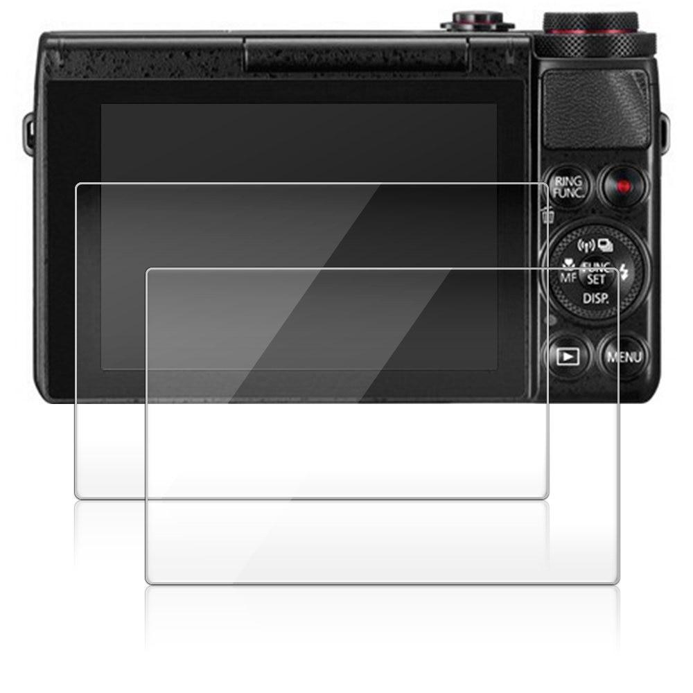 2 paket 0,3mm Glas LCD Screen Protector für Canon Powershot G7XII/G7X Mark II/G7X/G7 X Digitalkamera