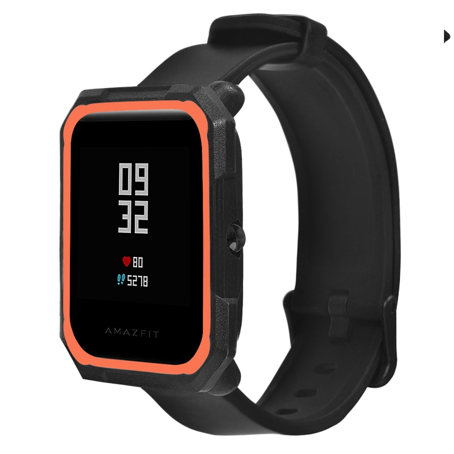 Funda protectora para Xiaomi Huami Amazfit Bip Youth Watch, carcasa completa de TPU, accesorios de cubierta colorida para reloj juvenil Amazfit Bip