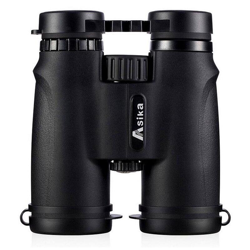Asika 10x42 High quality Binoculars HD Professional Military Telescope lll Night Vision Binocular Fo