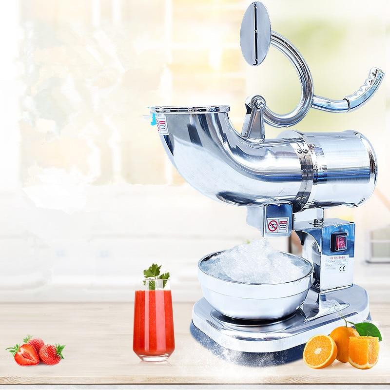 Новая дробилка для льда коммерческий бытовой кухонный инструмент из нержавеющей