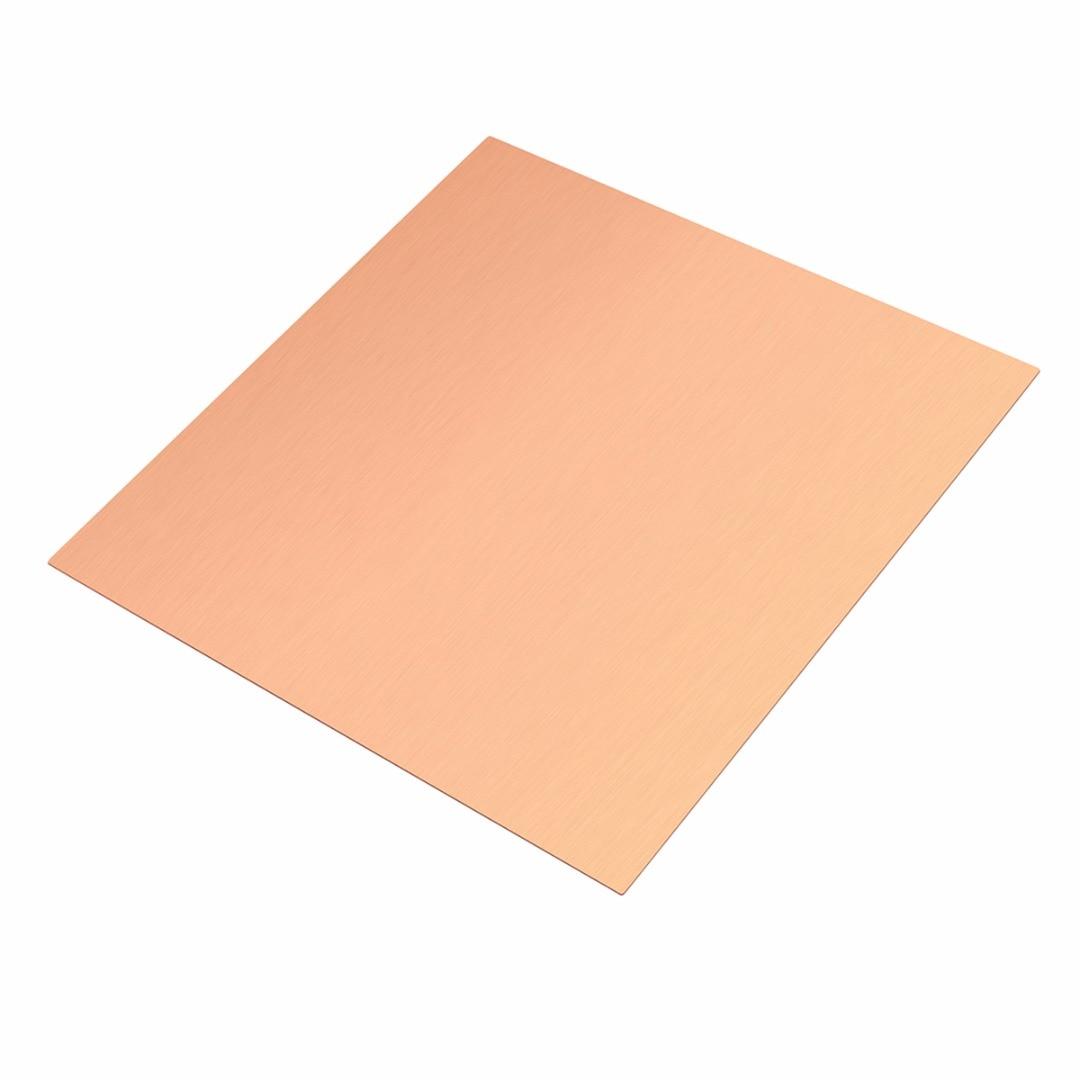 Тонкая металлическая фольга из чистой меди, толщина 100 мм x 100 мм 0,5 мм, устойчивая к коррозии, новинка 99.9%