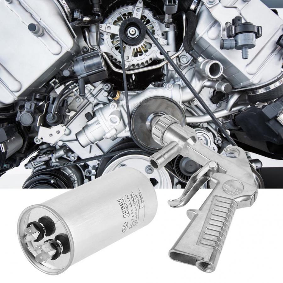 Condensador de 30uF AC 450V condensador de Motor cilíndrico CBB65 condensador de Motor para aire acondicionado motores refrigerador CBB65A-1