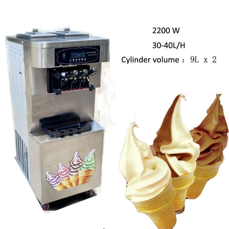 soft ice cream maquina de frozen yogurt maquina de fruta eletrico soft ice cream maker