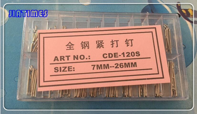 Envío gratis 1 Set 200 Uds. 7mm-26mm correa de reloj cierre hebilla tubo PIN de fricción herramienta de barra de resorte