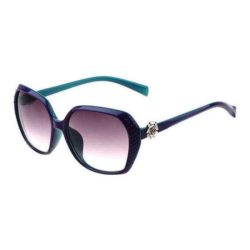 Clássico gradiente óculos de sol com caso marca feminina óculos de sol feminino designer moda óculos de sol feminino