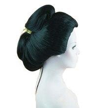 StrongBeauty японский парик гейши, Синтетический волос для косплея